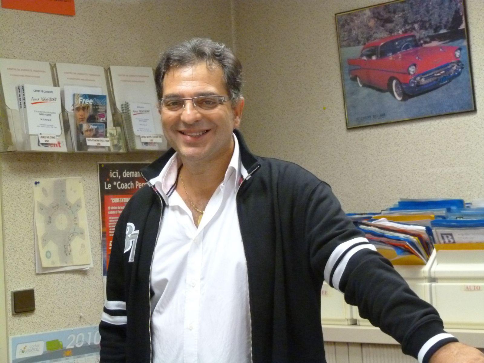Patrick directeur de l'agence création en 1986.